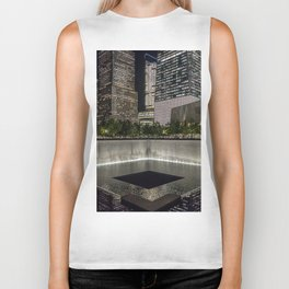 Footprint Fountain - NYC Biker Tank