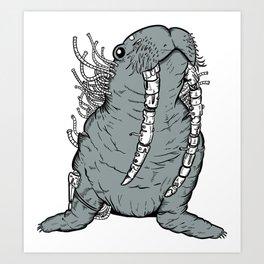 Walrusyborg Art Print