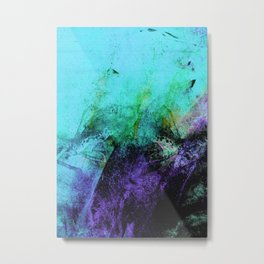 STORMY PURPLE Metal Print