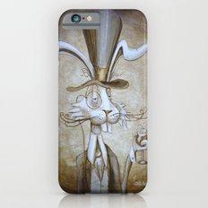 Tim & Jill's Mr. Hasenpfeffer Victorian Style Portrait iPhone 6s Slim Case