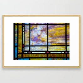 All The Colors Held Together Framed Art Print