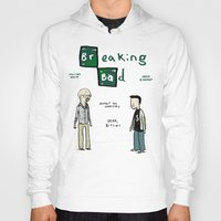 breaking bad Hoodies featuring Breaking Bad by Sophie Corrigan