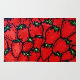 Strawberry jamboree Rug