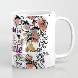 letterings purple Coffee Mug