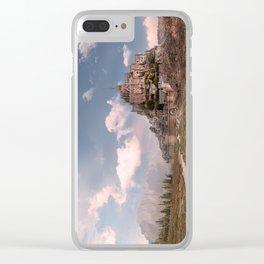 Arid Castle Clear iPhone Case
