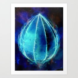'Harbinger' inverted Art Print