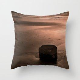 bandon beach. Throw Pillow