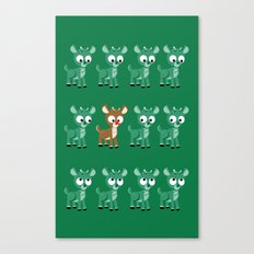 Look, it's Rudolph! (v2) Canvas Print