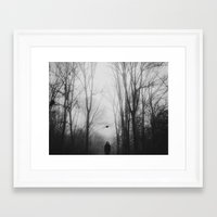 hat Framed Art Prints featuring hat by MartaSyrko