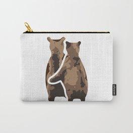 BEAR COUPLE Carry-All Pouch