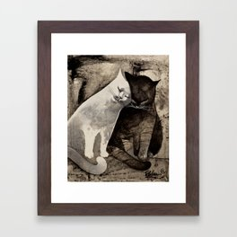 MORNING KISS by Raphaël Vavasseur Framed Art Print