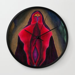 Religious Iconography Wall Clock