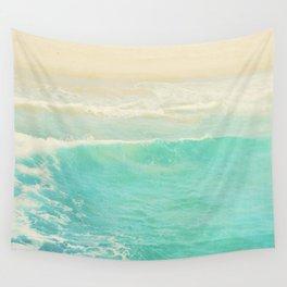beach ocean wave. Surge. Hermosa Beach photograph Wall Tapestry