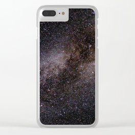 The Milky Way Clear iPhone Case