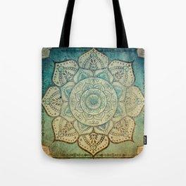 Faded Bohemian Mandala Tote Bag