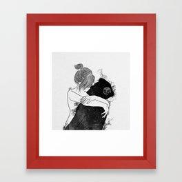 You're my favorite city. Framed Art Print