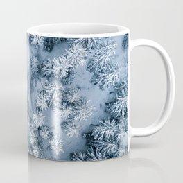 Winter Pine Forest Coffee Mug