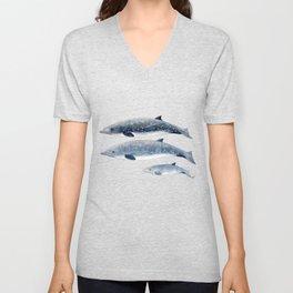 Blainville´s beaked whale Unisex V-Neck
