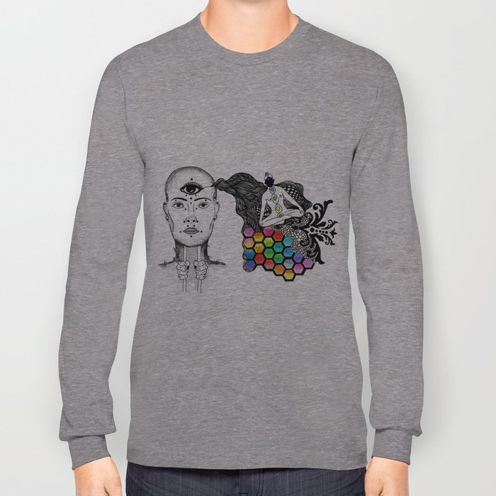 [spirit molecule] Long Sleeve T-shirt