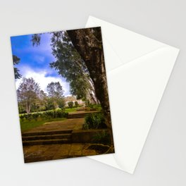 Afuera Del Museo I Stationery Cards