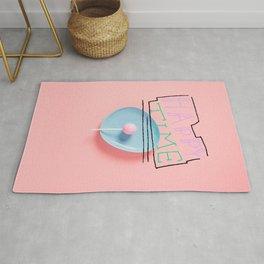 Lolly Print Pink, Girls Nursery Room Decor, Lollypop, Kids room print art, Trendy Rug