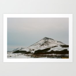Coast Collective - Iceland Series Dusty Art Print