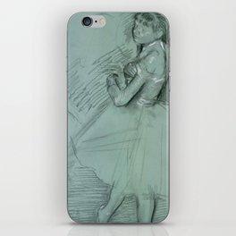 """Edgar Degas """"Two Dancers"""" iPhone Skin"""