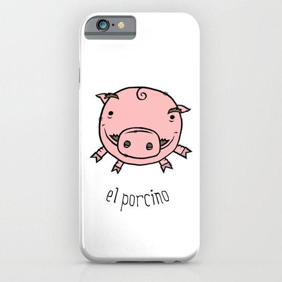 el porcino iPhone & iPod Case