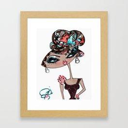 GC Doll Gigi Galore  Framed Art Print
