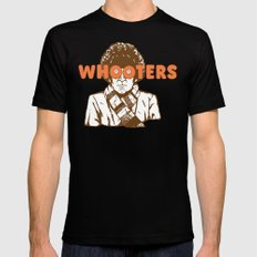Whooters Mens Fitted Tee Black LARGE