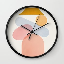 Abstraction_Home_Sweet_Home Wall Clock