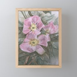 Roses for my Love Framed Mini Art Print
