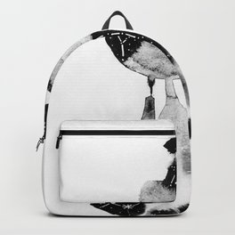 Watercolor constellations I Backpack
