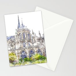 Notre-Dame de Paris Stationery Cards