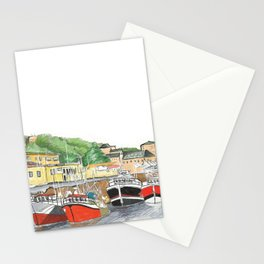 Cherbourg-port town Stationery Cards