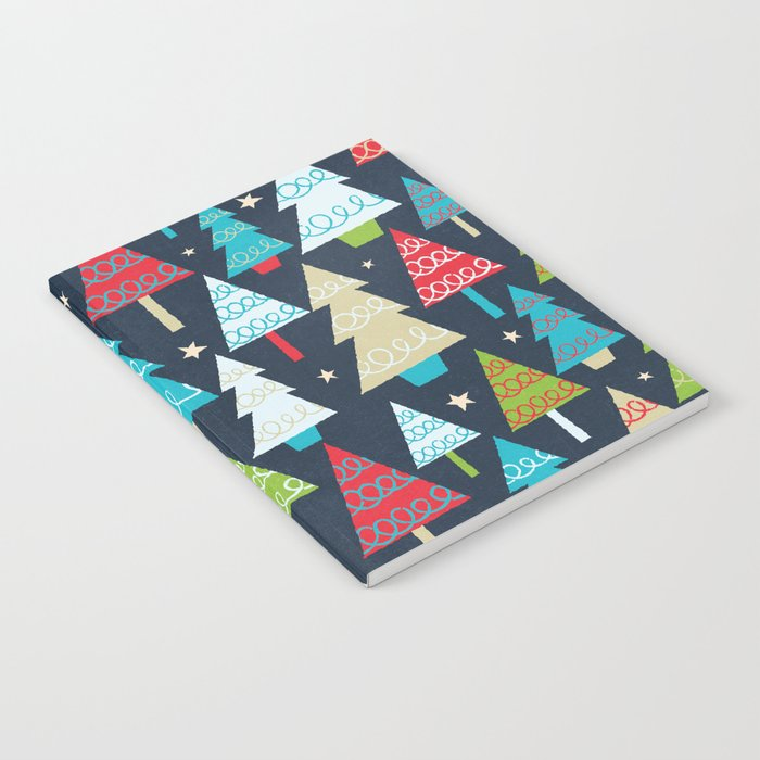 Christmas Trees Notebook