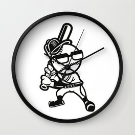 Minor League Baseball t shirts Wall Clock