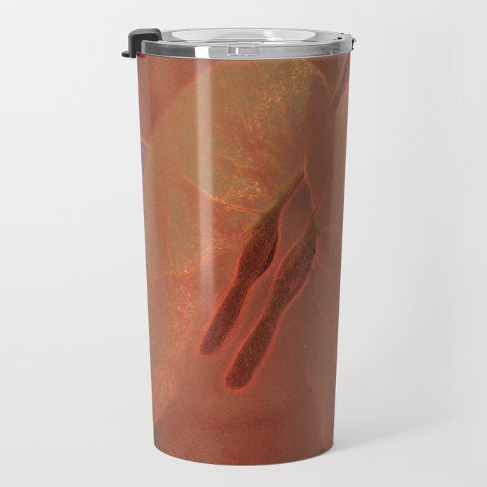 Sunny Bougainville( glow) Travel Mug