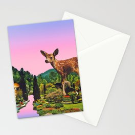 Giant deer Stationery Cards