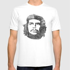 Che Mens Fitted Tee MEDIUM White