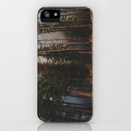 Oregon Forest Control Fire iPhone Case