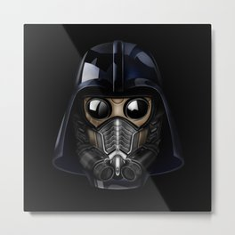 Star Darth lord Vader gas mask iPhone 4 4s 5 5c 6, pillow case, mugs and tshirt Metal Print