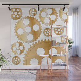 Cogs and Gears Wall Mural