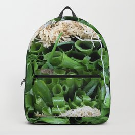Green Onions are beautiful! Backpack
