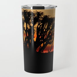 NAMIBIA ... Quiver Tree Sunset Travel Mug