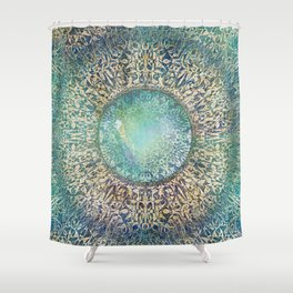 Moonchild Mandala Shower Curtain