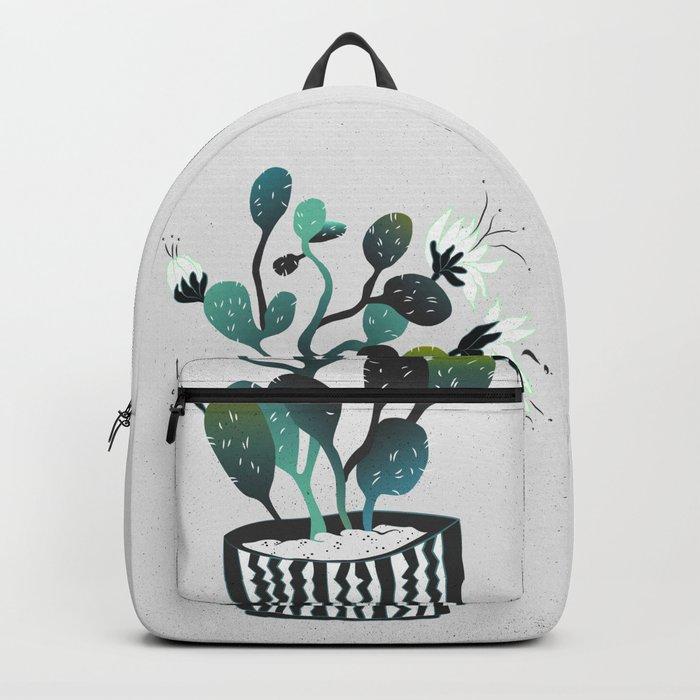 Noir Cactus Backpack