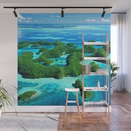 Palau Island Paradise Wall Mural