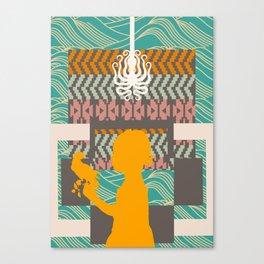Fall into shape Canvas Print
