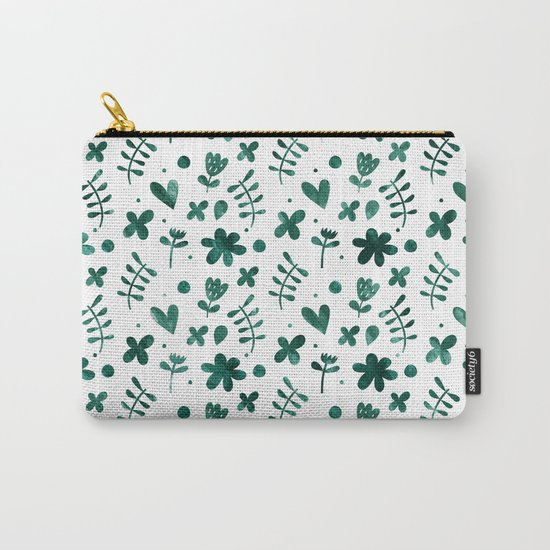 Colorful Lovely Pattern VII Carry-All Pouch